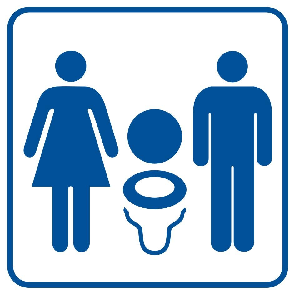 Toaleta damsko - męska 2
