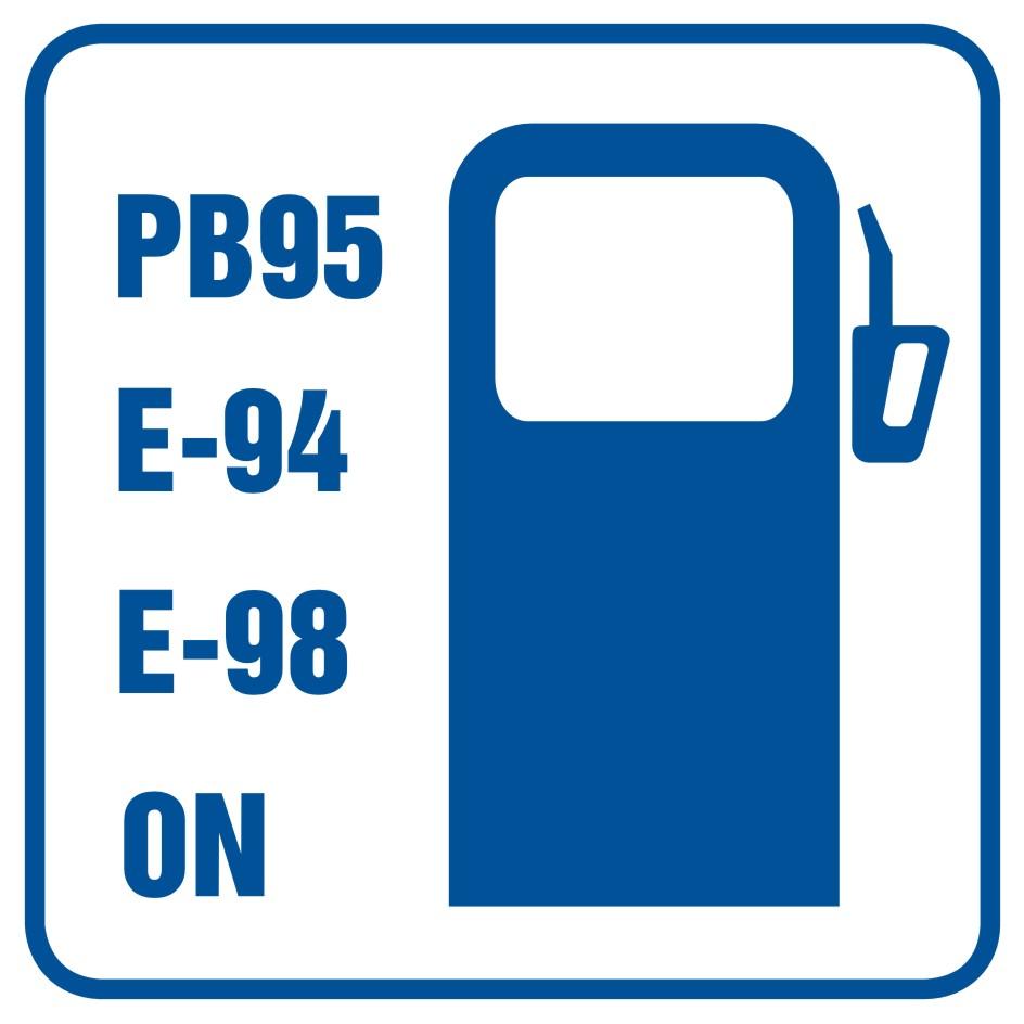 Stacja benzynowa (z wyszczególnieniem rodzajów paliw)