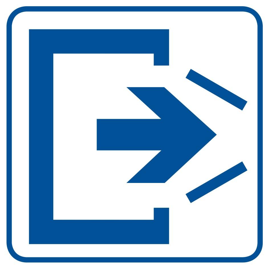 UWAGA! Drzwi zamykają się samoczynnie. Nie zamykaj na siłę