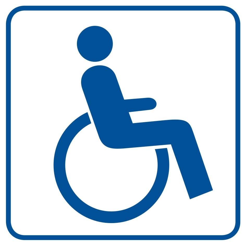 Miejsce dla inwalidów na wózkach