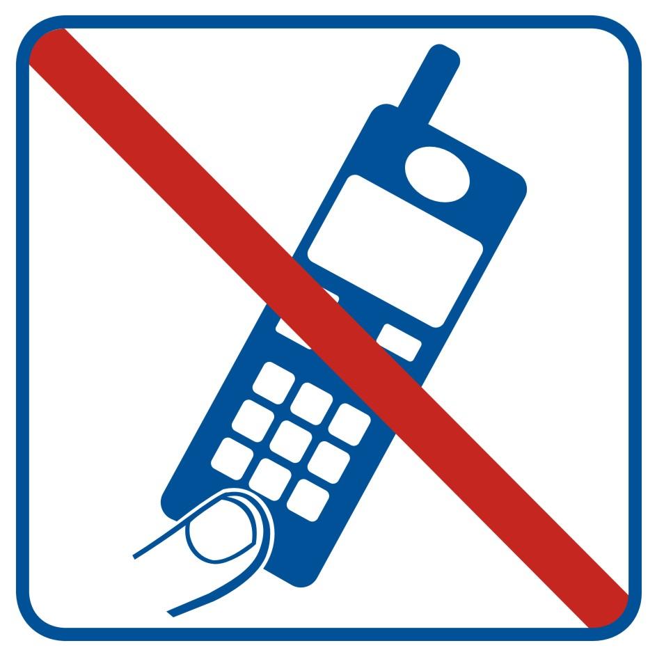 Zakaz używania telefonów komórkowych 4