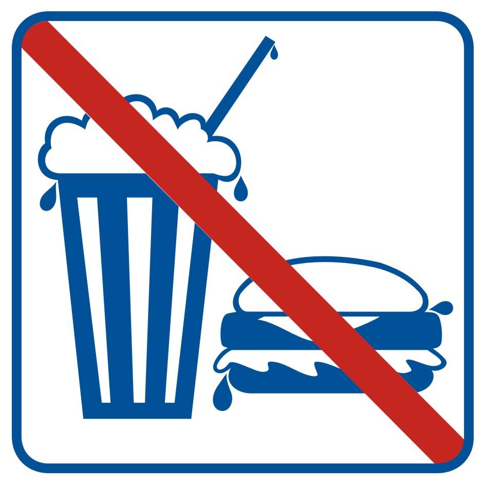 Zakaz spożywania posiłków i napojów