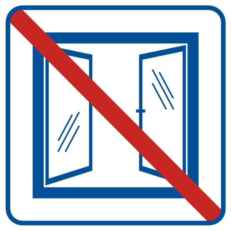 Nie otwierać obiekt klimatyzowany
