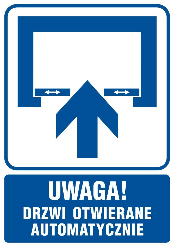 UWAGA! Drzwi otwierane automatycznie 2