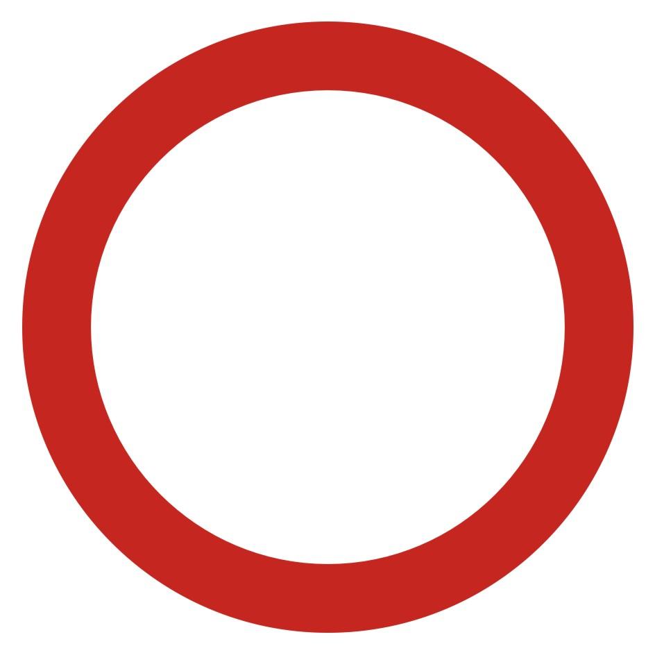 Zakaz ruchu w obu kierunkach