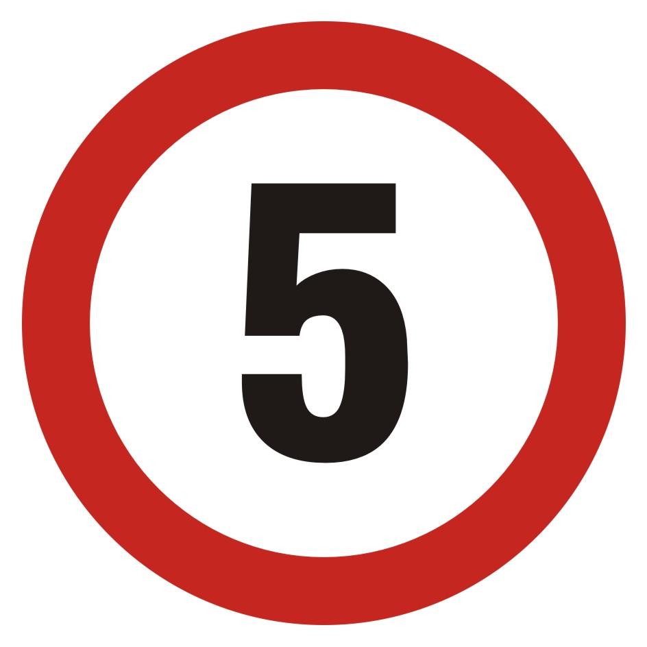 Ograniczenie prędkości 5