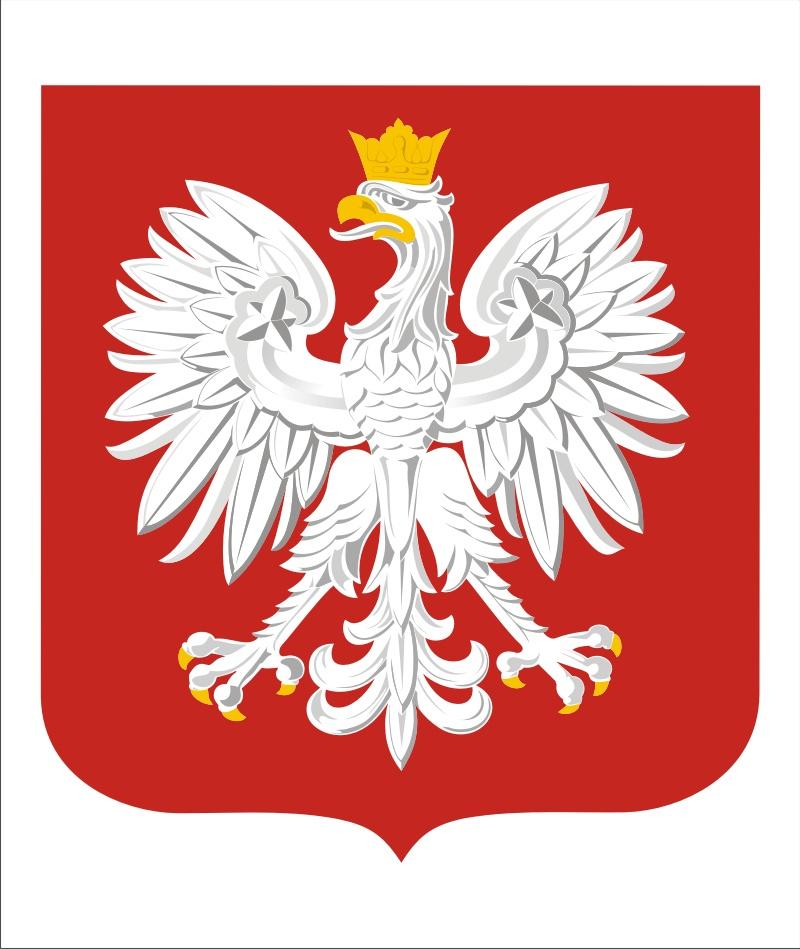 Tablica Godło polskie