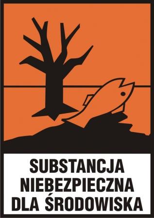 Substancja niebezpieczna dla środowiska (N) z opisem