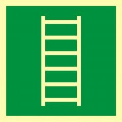 Znak ewakuacyjny Drabina ewakuacyjna