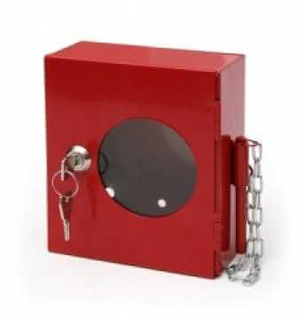 Kasetka na klucz metalowa ze zbijakiem