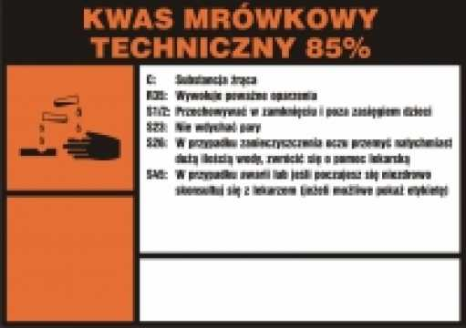 Kwas mrówkowy techniczny 85%
