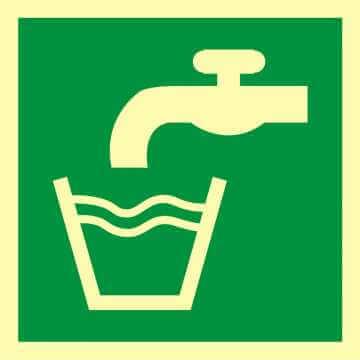 Znak ewakuacyjny Woda zdatna do picia