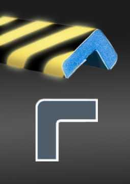 Profil ochronny fotoluminescencyjny czarno - żółty 5