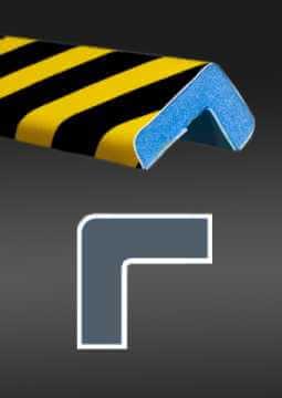 Profil ochronny ostrzegawczy czarno - żółty 5