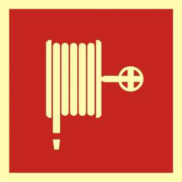 Znak przeciwpożarowy Hydrant wewnętrzny