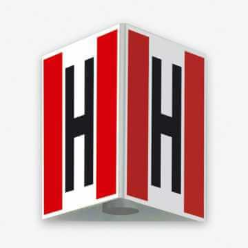Znak przestrzenny Znak 3D hydrant zewnętrzny przestrzenny - duży 50 x 50 cm