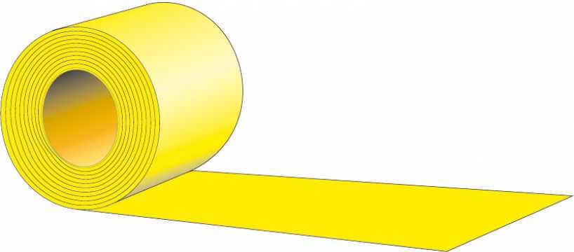 Taśma typ X - Dwustronna żółta