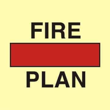 Plan ochrony przeciwpożarowej w pojemniku