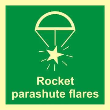 Rakieta spadochronowa