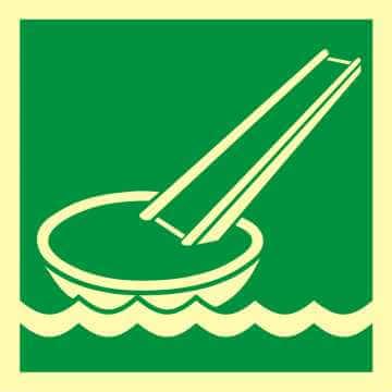 System ewakuacji okrętowej (ślizg) 2