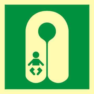 Kamizelka ratunkowa dla niemowląt 2