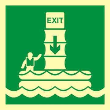 System ewakuacji okrętowej (zsuwnia) 2