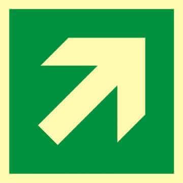Kierunek drogi ewakuacyjnej 8