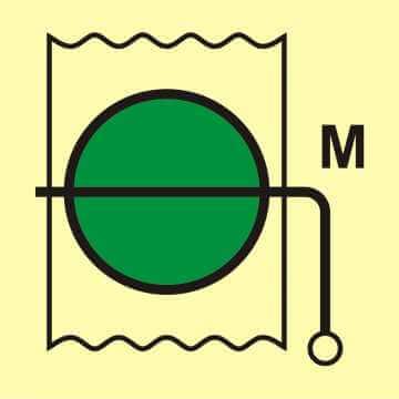 Przepustnica przeciwpożarowa (obszar maszynowy)
