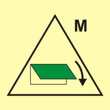 Zdalne sterowanie zamykaczy wlotu/wylotu wentylacyjnego (obszar maszynowy)