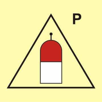Stanowisko zdalnego uwalniania (P - proszek)