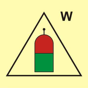 Stanowisko zdalnego uwalniania (W - woda)