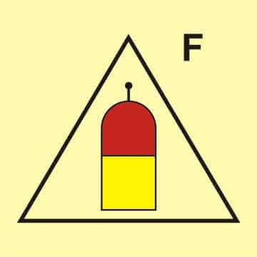 Stanowisko zdalnego uwalniania (F - piana)