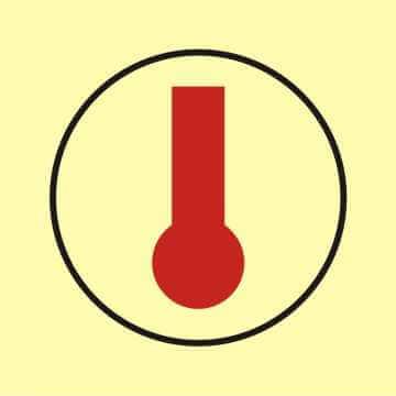 Obszar lub zespół obszarów monitorowanych przez detektory ciepła