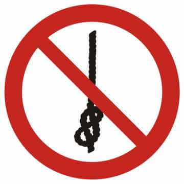 Zakaz wiązania węzłów