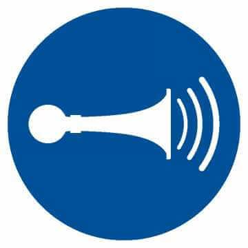 Nakaz używania sygnału dźwiękowego
