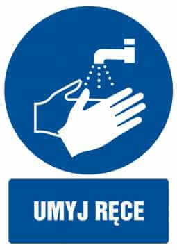 Umyj ręce z opisem