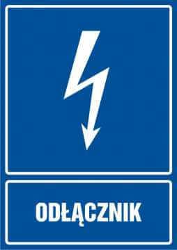 Odłącznik - pionowy