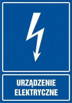 Urządzenie elektryczne - pionowy