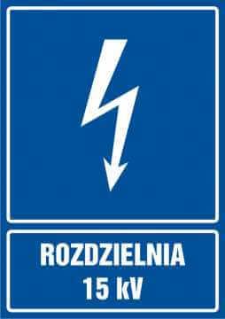 Rozdzielnia 15 kV - pionowy