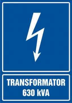Transformator 630 kVA - pionowy