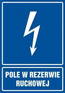Pole w rezerwie ruchowej - pionowy