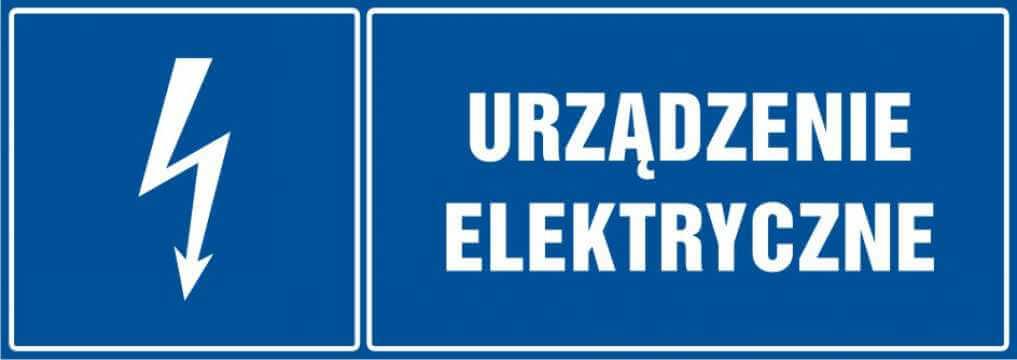 Urządzenie elektryczne - poziomy