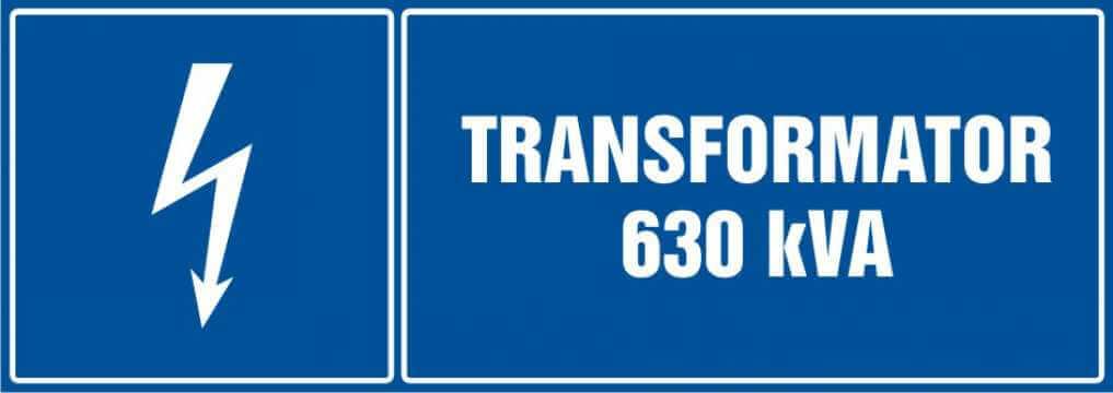 Transformator 630 kVA - poziomy