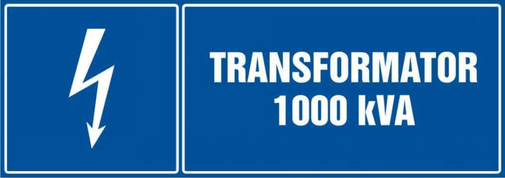 Transformator 1000 kVA - poziomy