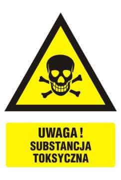 Ostrzeżenie przed substancjami toksycznymi 2