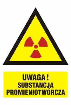 Ostrzeżenie przed substancjami promieniotwórczymi 2