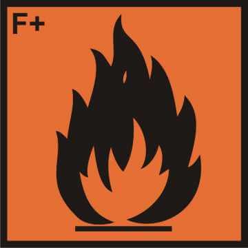 Substancja skrajnie łatwopalna (F+)