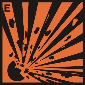 Substancja wybuchowa (E)