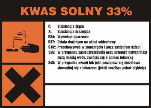 Kwas solny 33%