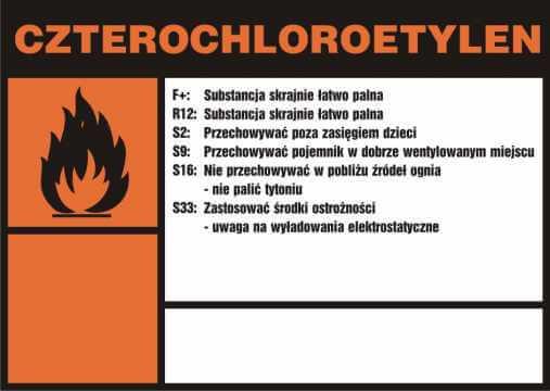 Czterochloroetylen